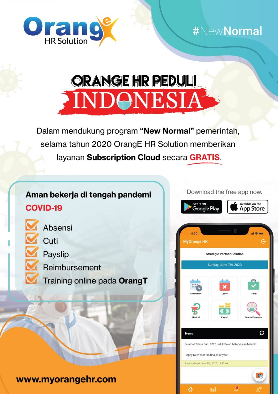 ORANGE HR PEDULI INDONESIA